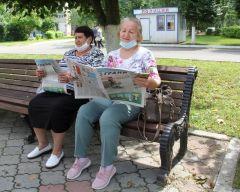 Галина Анатольевна и Татьяна СкориковаТеперь и сами попали в газету