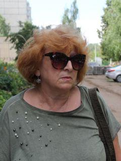 Ольга Васильевна, жительница дома № 5Дворы горячей поры Комфортная среда