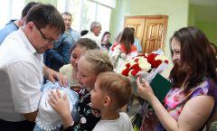 Фото Марии СМИРНОВОЙСпасибо за сына и за дочь! перинатальный центр Новочебоксарска
