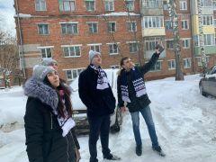Новочебоксарские дома проверили на качество уборки крыш от льда и снега уборка снега сосульки