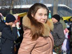 Евгения Савкина пришла поесть шашлыков и проводить зиму, потому что хочется уже тепла.Солнце, блины  и весеннее настроение Масленица-2019 Город счастливых семей