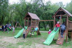 Игровая площадкаЧебоксарская ГЭС оборудовала игровую площадку в социально-реабилитационном центре для несовершеннолетних РусГидро