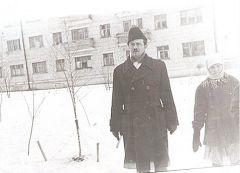 Новочебоксарск. Строительство горбольницы. 1969 г.Новочебоксарск – это моя жизнь Навстречу 60-летию Новочебоксарска Юрий Исидорович Клейман Они были первыми