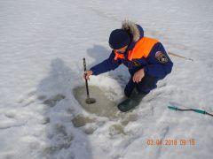 Проводить замеры толщины льда нужно регулярно.В Новый год обойдемся  без страшных историй День спасателя