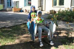 КачалкаЧебоксарская ГЭС подарила особенным малышам спортивную площадку РусГидро