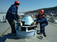 Капитальный ремонт на береговой насосной станции.Коммунальные сети: Сделано много, но предстоит еще больше