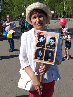 Марина Ходова,  пенсионерПамять бессмертна День Победы Бессмертный полк