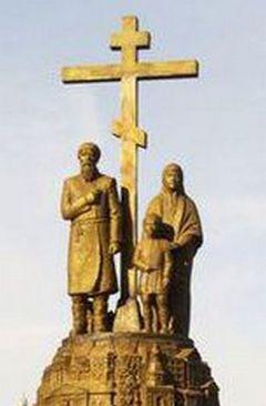 Памятник основателям Клинцов.Мы — пальцы одной руки.  Болит любой — больно Уроки истории Моя Держава