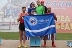Команда ветеранов-250Три «золота» и одно «серебро» завоевала Чебоксарская ГЭС  в легкоатлетической эстафете на призы газеты «Грани» РусГидро