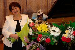 Шахида Краснова55 лет с музыкой Юбилей Новочебоксарская детская музыкальная школа
