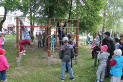 Кто быстрееЧебоксарская ГЭС оборудовала игровую площадку в социально-реабилитационном центре для несовершеннолетних РусГидро