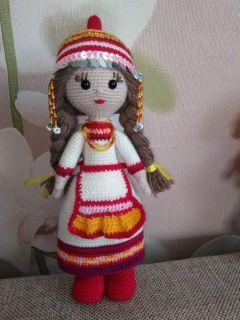 Кукла Елены Норкиной.Талант раскрылся в самоизоляции Грани в Сети