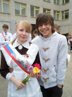 Марина Вишнева и Дмитрий Климов. Фото из альбома М.ВишневойНа счастье —   по монетке