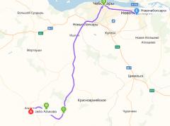 Маршрут XV велопробега: 2 день.XV ежегодный велопробег в Аликовский район в честь Дня Победы велопробег