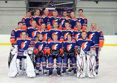 Молния-РусГидроСборная Чебоксарской ГЭС «Молния-РусГидро» представит Чувашию на Российских финалах Объединенной корпоративной хоккейной лиги РусГидро