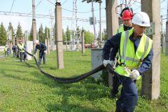 НАСФ предотвращает разлив маслаНа ОРУ 500/220 Чебоксарской ГЭС потушили условный «пожар» РусГидро