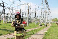 На ОРУНа ОРУ 500/220 Чебоксарской ГЭС потушили условный «пожар» РусГидро