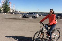 На работу - на велосипедеГидроэнергетики Чебоксарской ГЭС подержали Всероссийскую акцию  «На работу на велосипеде» РусГидро