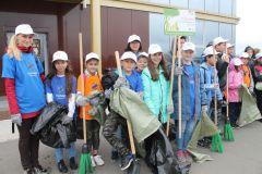 """На старте экоакции """"оБЕРЕГАй""""Почти весь мусор, собранный на акции «оБЕРЕГАй» в Новочебоксарске, отправили во вторичную переработку РусГидро"""
