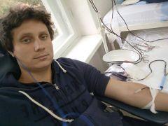 Быть донором — значит быть героем.  Фото из личного архива Н.НеуйминаДонорство: мы с тобой одной крови донорство донор