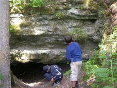 Что там внутри пещеры? Фото Марийского туристического порталаТайны марийских пещер Тропой туриста