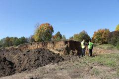 Фото предоставлено ОНФ Чувашии.ОНФ Чувашии  обнаружил незаконную добычу песка и глины для строительства дороги в Ядринском районе ОНФ Чувашии экология охрана окружающей среды