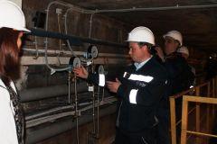 Обновленную пьезометрическую сеть показал В.Журавлев Первая в Чувашии сейсмологическая сеть оборудована на Чебоксарской ГЭС РусГидро