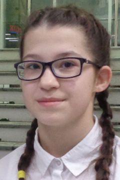 Ольга Ильина, 8-й класс, школа № 48 г. ЧебоксарыОпрос: Какое доброе дело вы сделали в своей жизни? Школа-пресс волонтеры