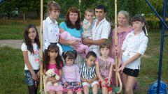 Фото автора.В большой семье большая радость: большой дом! Многодетная семья