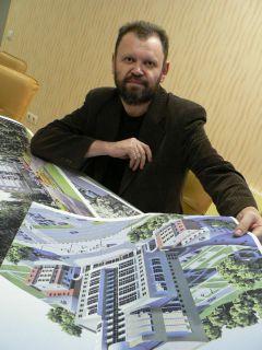 Архитектор Станислав Удяков. Фото из личного архива С.УдяковаАрхитектор —  своего рода дирижер...