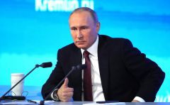 Фото kremlin.ruВладимир Путин:  Россия открыта для диалога Пресс-конференция Владимира Путина