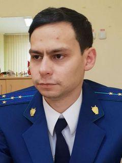Помощник прокурора Новочебоксарска Павел МАКЕЕВПослужу России!