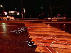 Пешеходный переход на ул. Советской, 25, где 28 сентября произошло ДТП.  Коллаж Марии СМИРНОВОЙНам не светит переход Хватит погибать на дорогах