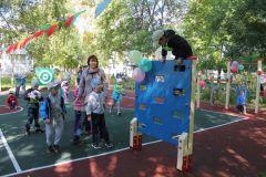 Полоса препятствийЧебоксарская ГЭС подарила особенным малышам спортивную площадку РусГидро