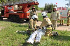Помощь пострадавшемуНа ОРУ 500/220 Чебоксарской ГЭС потушили условный «пожар» РусГидро