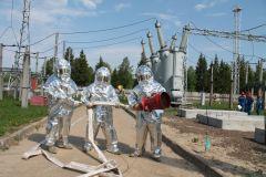 ПожарныеНа ОРУ 500/220 Чебоксарской ГЭС потушили условный «пожар» РусГидро