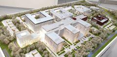 Предварительный план реконструкции Республиканской клинической больницы.Забота по-новому. Главную больницу Чувашии ждет большая реконструкция Реализация нацпроектов