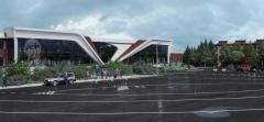 Проект фасада обновленного аэропорта. 3D-модель с сайта Минтранса ЧувашииНа взлет дали добро. Чебоксарский аэропорт им. А. Николаева готовится  к превращению в суперсовременную воздушную гавань
