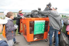 Просто разделяйПочти весь мусор, собранный на акции «оБЕРЕГАй» в Новочебоксарске, отправили во вторичную переработку РусГидро