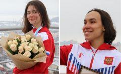 Фото cap.ruЗолото  на этапе Кубка России Лана Прусакова Дмитрий Мулендеев