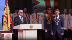 Олег Николаев вступил в должность Главы Чувашии Врио Главы Чувашии Олег Николаев