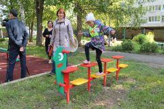 ШагоходЧебоксарская ГЭС подарила особенным малышам спортивную площадку РусГидро