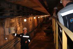 Сейсмодатчики в потерне Чебоксарской ГЭСПервая в Чувашии сейсмологическая сеть оборудована на Чебоксарской ГЭС РусГидро