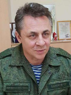 Военный комиссар Новочебоксарска Сергей БАРАНОВПослужу России!