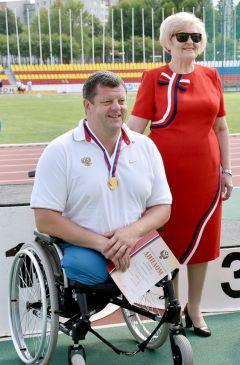 Иван СкрынникИз Чебоксар –  на мировой чемпионат паралимпиада