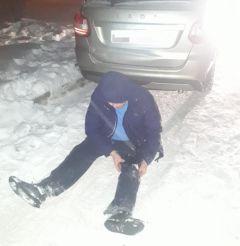 Фото УГИБДД МВД по ЧувашииСотрудники ГИБДД задержали скрывшегося с места ДТП водителя ДТП