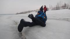 Фото и видео предоставлены Новочебоксарским инспекторским участком ГИМС МЧС РФ по ЧувашииЯ должен был  спасти ребенка спасение