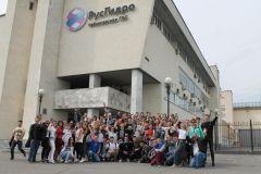 Студенты МГСУ130 студентов-гидротехников познакомились с Чебоксарской ГЭС РусГидро