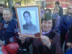 Светлана Афанасьева (Уськова)Они должны пройти победным строем Бессмертный полк