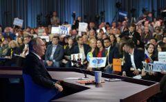 Фото kremlin.ruХочется, чтобы Путин был с нами всегда Пресс-конференция Владимира Путина